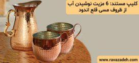 کلیپ مستند: ۶ مزیت نوشیدن آب از ظروف مسی قلع اندود  / همراه با زیر نویس فارسی