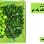 توصیه بهداشتی: گوجه سبز و چغاله بادام