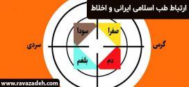 ارتباط طب اسلای ایرانی و اخلاط
