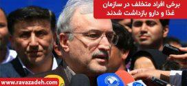وزیر بهداشت در جمع خبرنگاران: برخی افراد متخلف در سازمان غذا و دارو بازداشت شدند