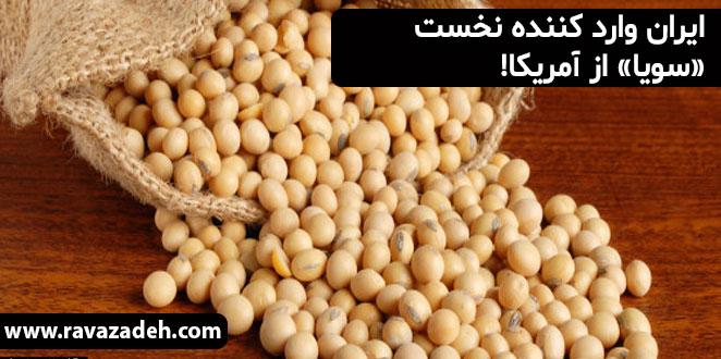 Photo of ایران وارد کننده نخست «سویا» از آمریکا!
