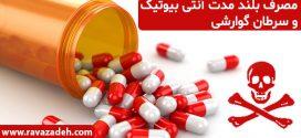 مصرف بلند مدت آنتی بیوتیک و سرطان گوارشی