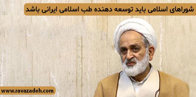 Photo of شوراهای اسلامی باید توسعه دهنده طب اسلامی ایرانی باشد