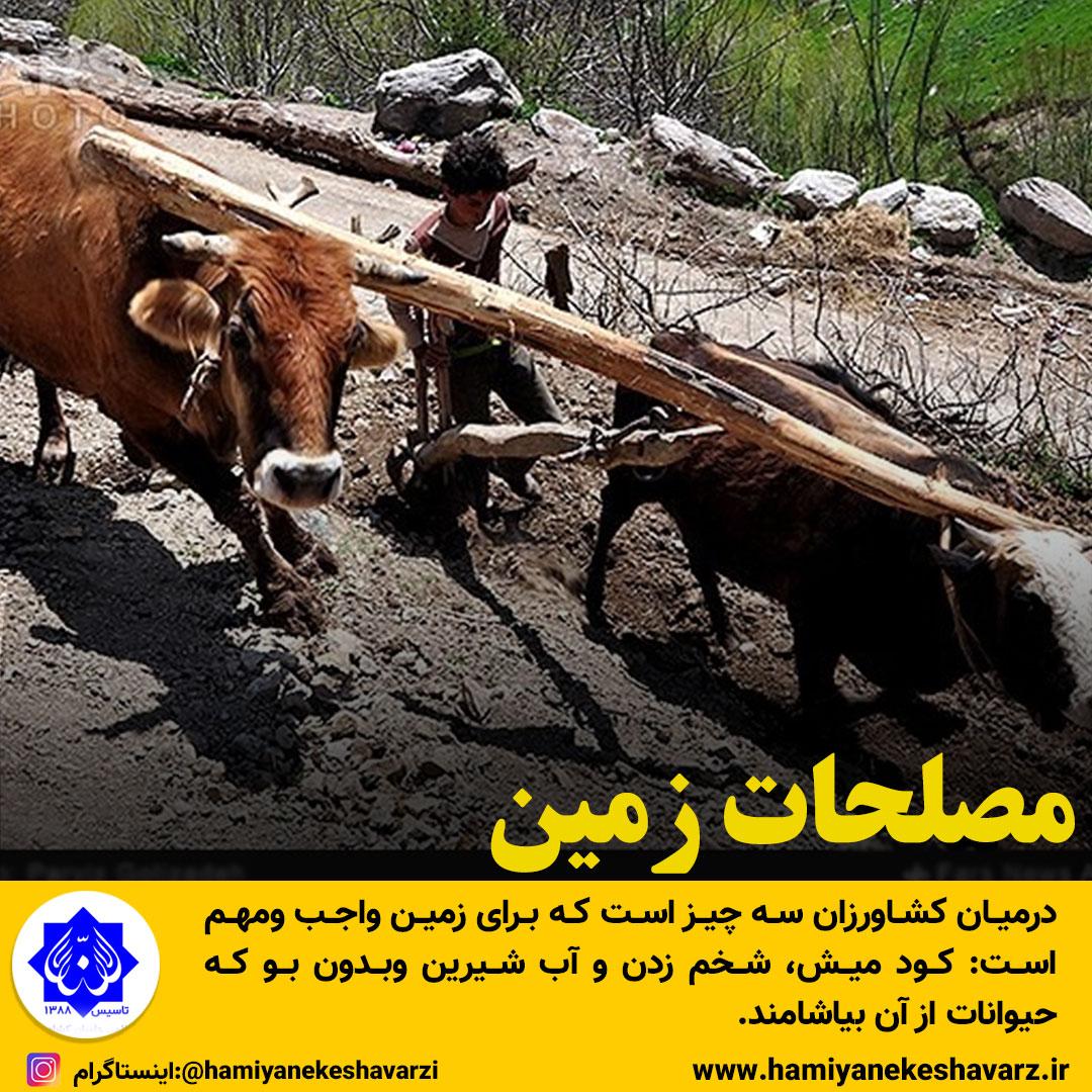 162 - مصلحات زمین اخبار - روازاده سایت حکیم دکتر روازاده پدر طب ایرانی اسلامی |