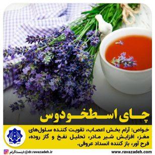 تصویر از چای اسطخودوس